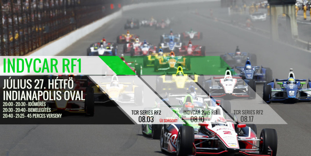 Indycar – Indianapolis Oval