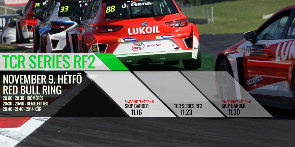 TCR Series – Irány a Red Bull Ring